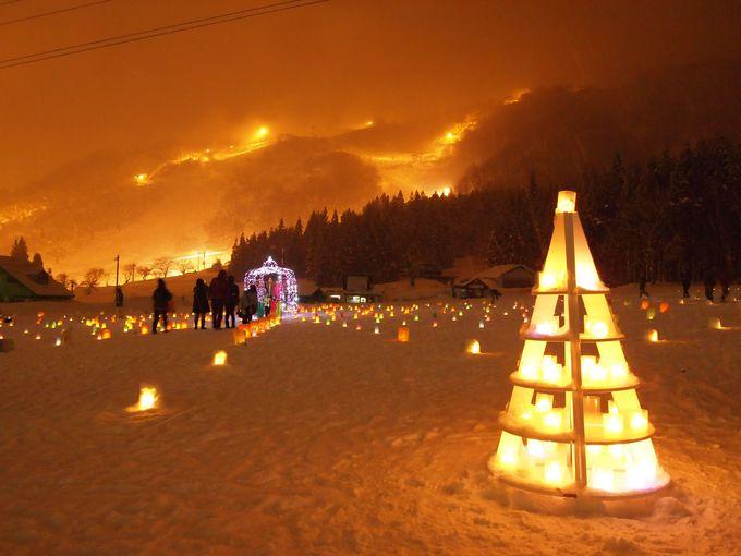 ゆったりのんびり過ごしたい、冬の夜のイベント