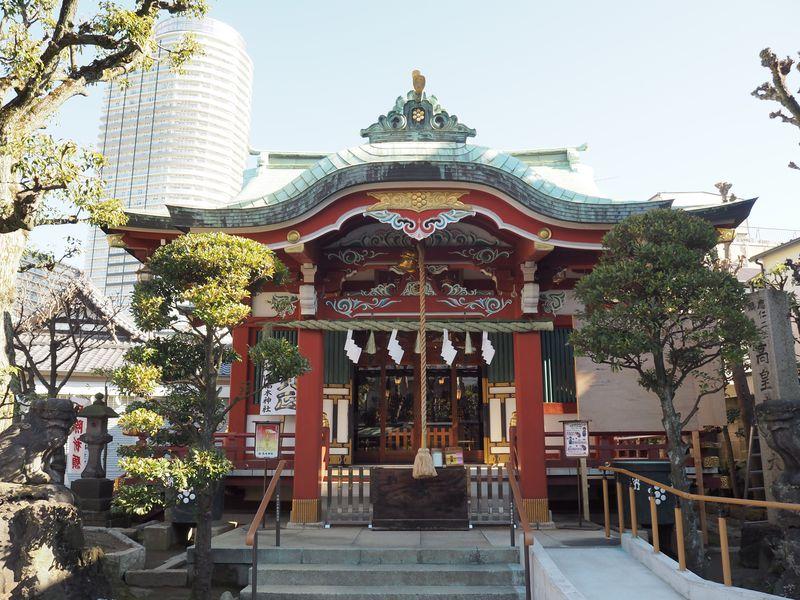 「高皇産靈神(タカミムスビノカミ)」を祀る古社