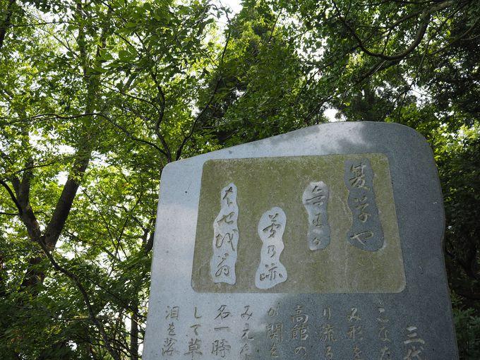 松尾芭蕉の有名な俳句を生んだ眺め