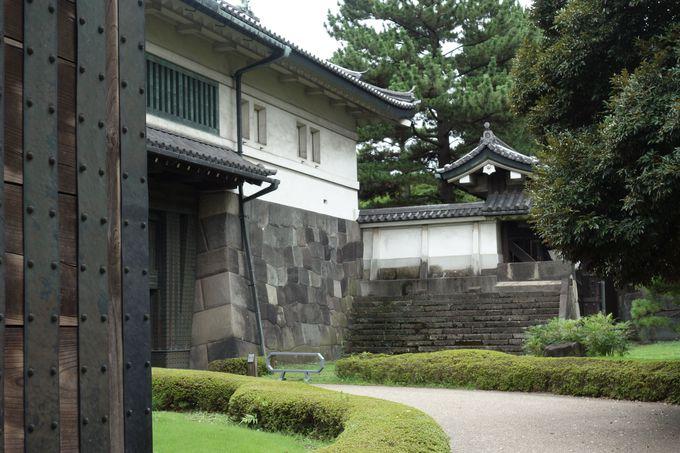 御三卿と大奥女中の登城門「平川門」には、もう一つの城門!
