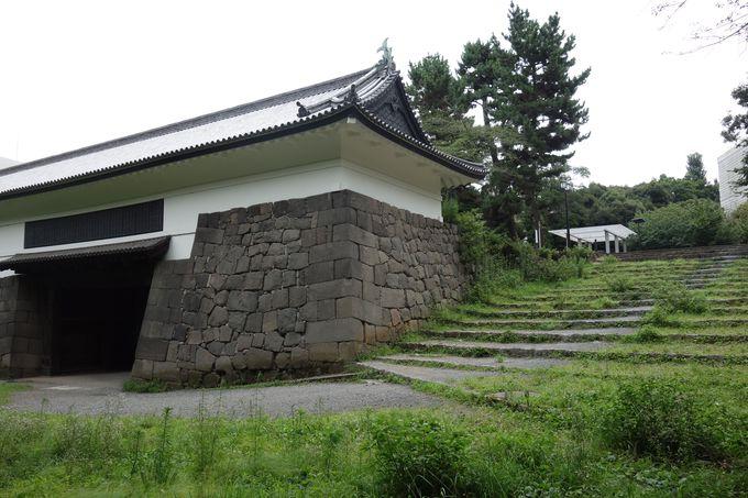 江戸城城門で一番人気のない「清水門」でも一番城門らしい!
