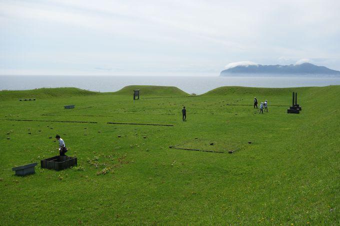 志苔館の館跡とその近くからは、想像を超えた埋蔵物も!
