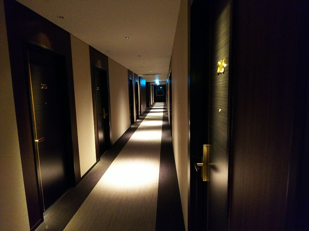 ハナホテル深谷は2015年開業ですが、とてもきれい!