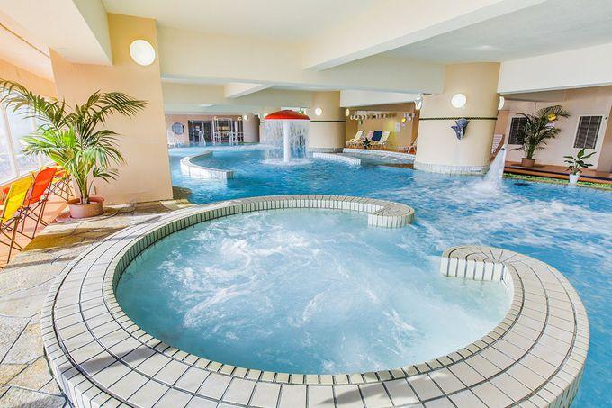 お部屋でゆっくりしたら、次は温泉露天風呂で疲れを取って!