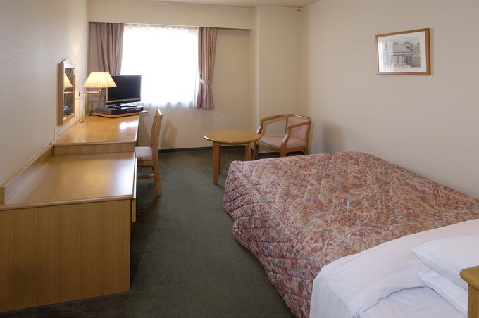 部屋は広くて静かで清潔さもあって、落ち着ける雰囲気!