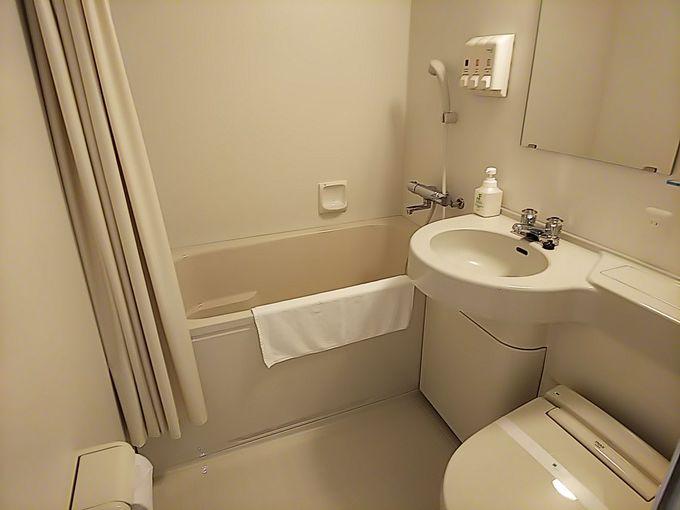 客室内は16平方m以上と広々!清潔感あり居心地良し