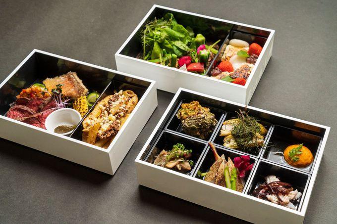お食事処では、健康的で安心な地産の食べ物が豊富に用意!