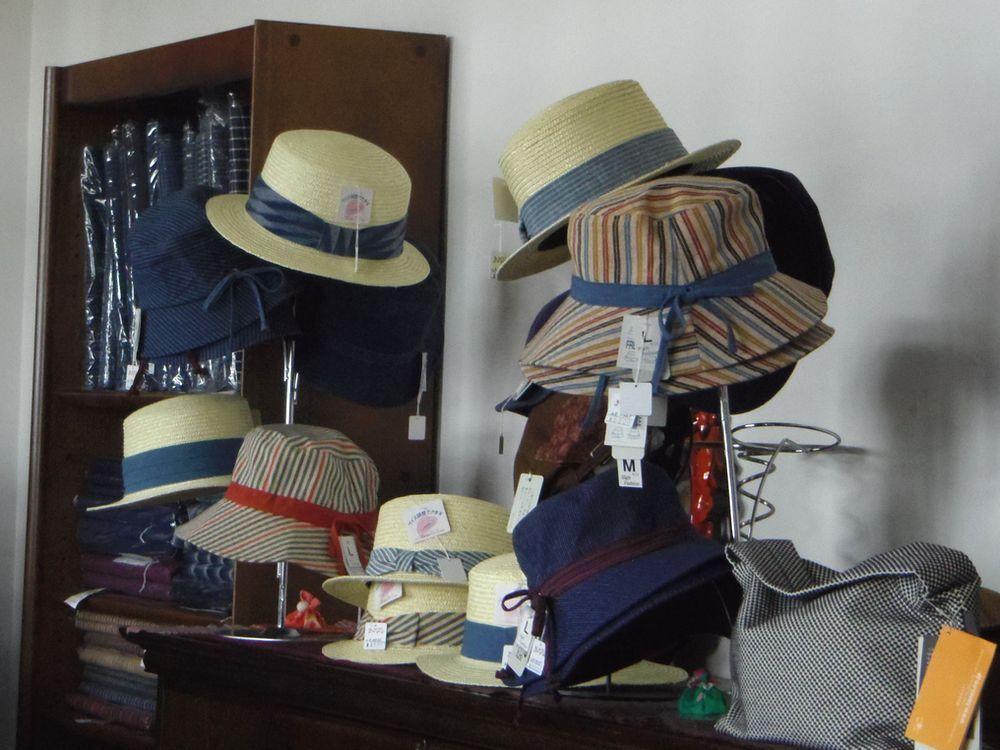 老若男女に人気のカンカン帽、あります