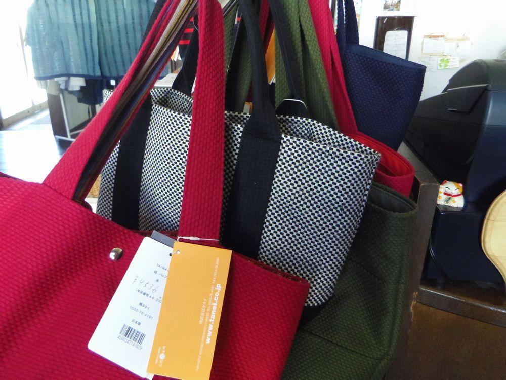 武道着作りの技術を応用した「sasicco」のバッグ