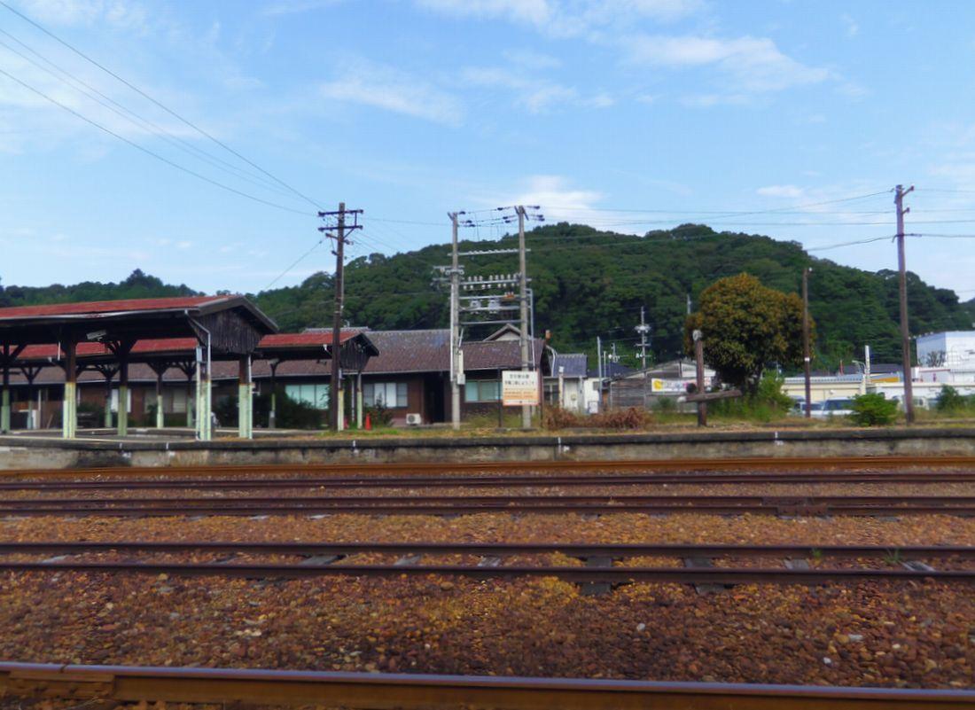 蒸気機関車の面影が見え隠れする施設群