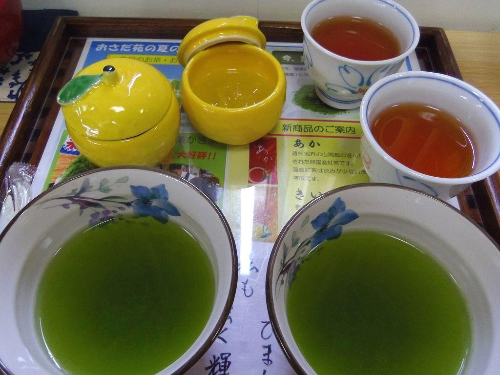 """自慢の緑茶で嬉しい""""おもてなし"""""""