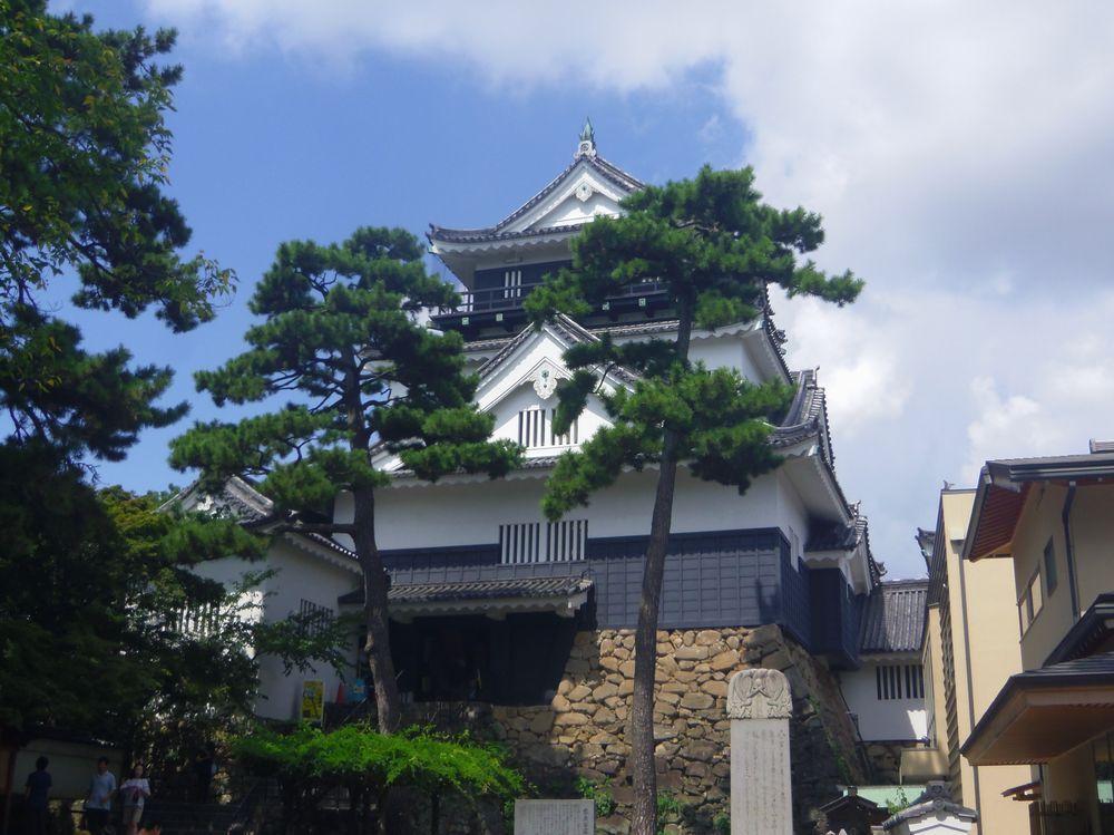 家康公出生の城・岡崎城