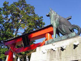 霊犬伝説が残る・静岡磐田「矢奈比賣神社(見付天神)」