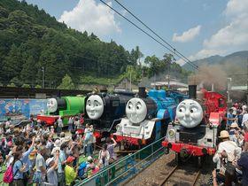 静岡・大井川鐵道で「きかんしゃトーマス号」を満喫しよう!