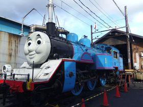 きかんしゃトーマス号に乗る前後も楽しい!静岡・大井川鐵道新金谷駅構内