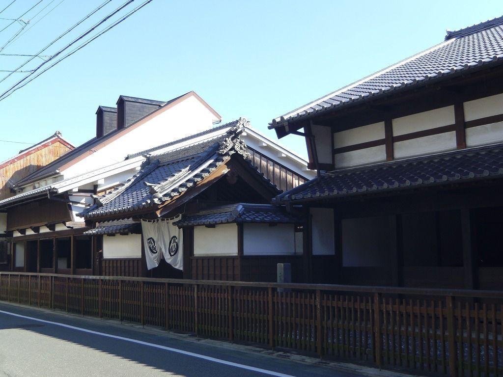 旧東海道沿いに現存する二川宿本陣