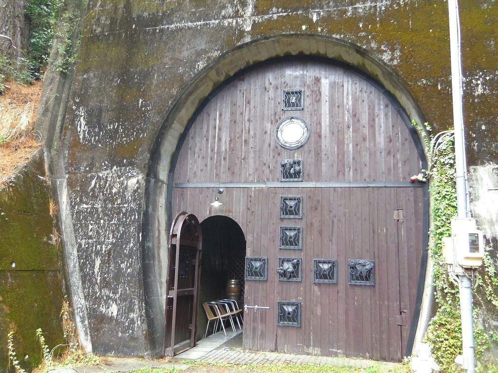 トンネルがワインセラーに!
