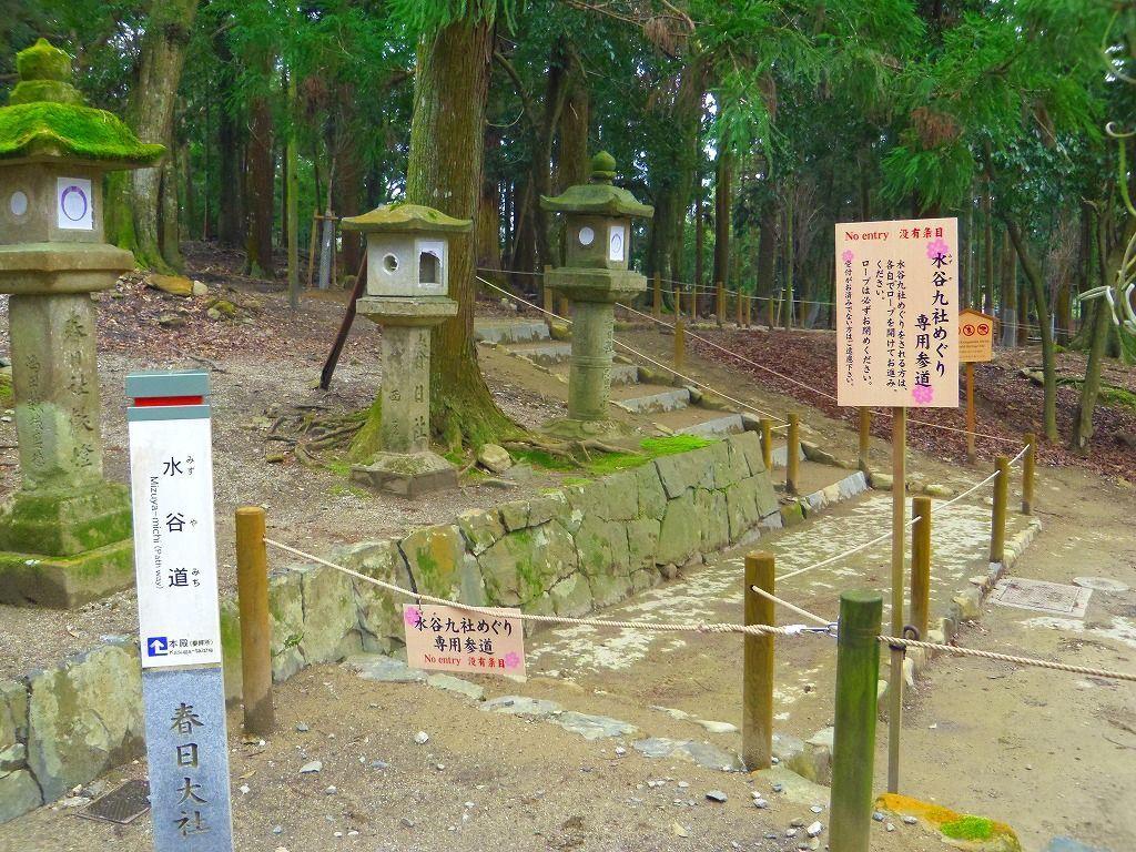 専用参道・水谷道を歩いて第五番納札所へ