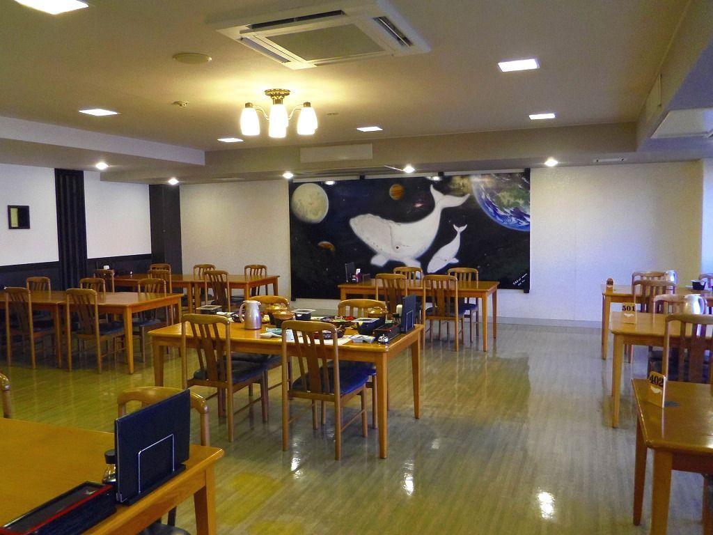 鯨肉料理が満喫できる温泉ホテル