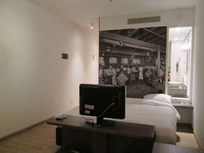 設備の整った、居心地のよいおしゃれなホテル