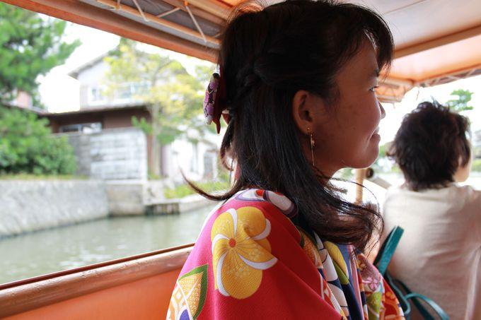 着物での松江観光は、こんなメリットも!