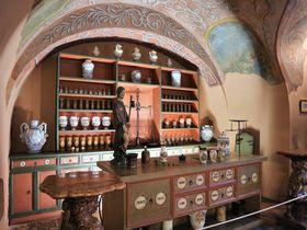 ハンガリー初の薬局を再現!ブダペスト「金の鷲薬局博物館」