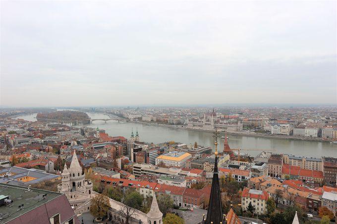 待ち焦がれていたブダペストの眺望!