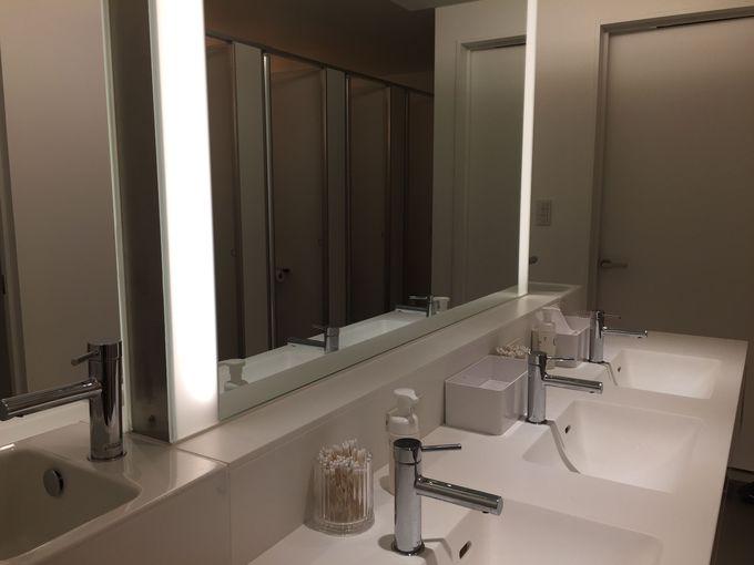 プライベートな空間が確保されたベッドルームは、女性専用!