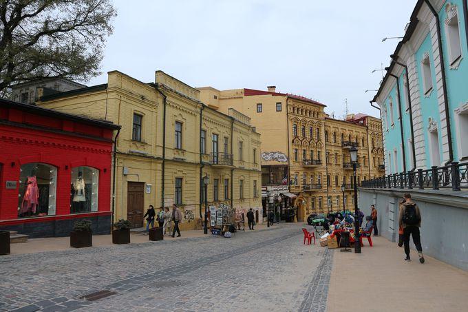 ロシア女帝のために建てられた「アンドレイ教会」