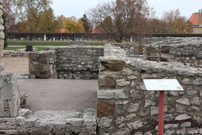 古代ローマ時代の遺跡を見学