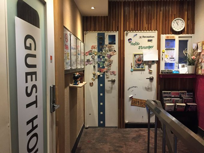 カタコトの日本語が通じる、アットホームであたたかいゲストハウス