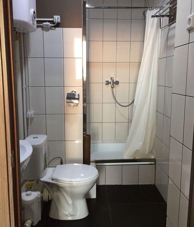 部屋はすべて個室。専用のバスルームあり