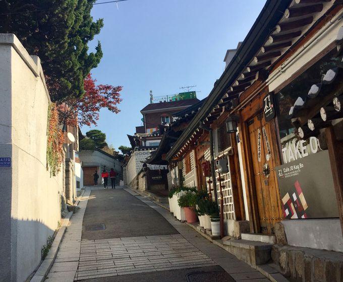 風情のある「北村韓屋村」でレトロ街歩き