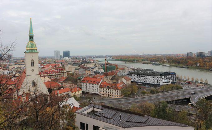 「ブラチスラバ城」から眺める絶景