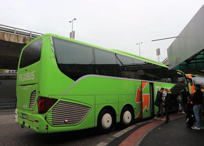 ブラチスラバへはバスでのアクセスがおすすめ!