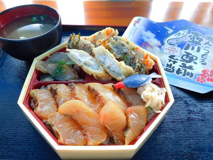 幻の寿司丼にこだわりのもずくや海ぶどう…ご当地グルメを贅沢に