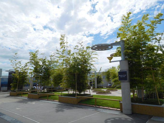 国際的にイマイチな展望デッキ?いえいえ本当は「空中庭園」です!