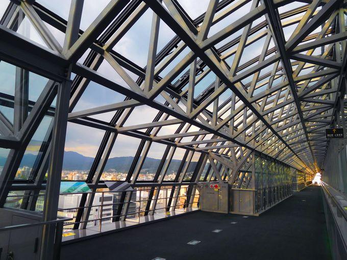 SF世界を空中散歩!京都駅の穴場・SKYWAY
