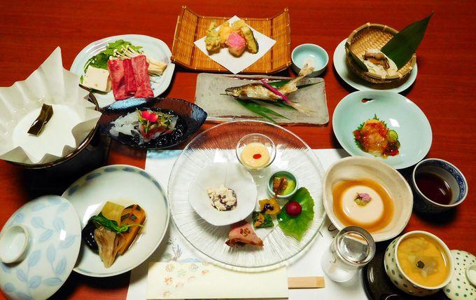 奈良・吉野ならではの優しいお料理、名物料理はなんと鯉!