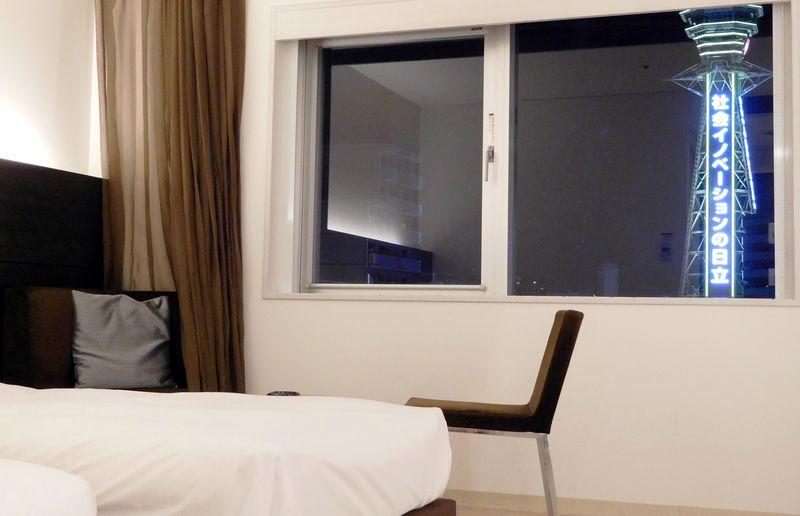 通天閣ちかっ!大阪・スパワールドホテルの宿泊者だけのおトクな特権とは?
