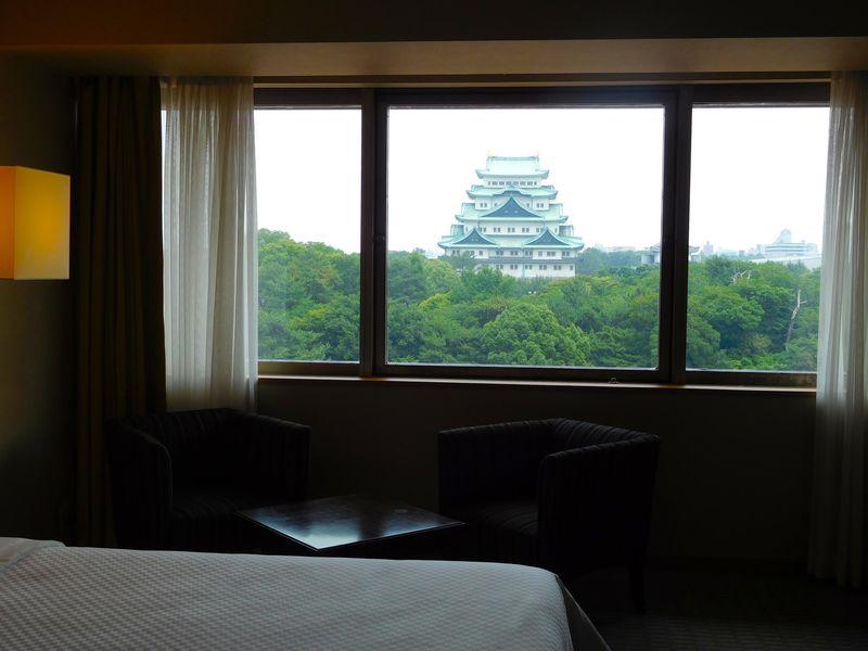 名古屋城を優雅に堪能、限定カクテルやシャチホコ土産も!ホテルナゴヤキャッスル