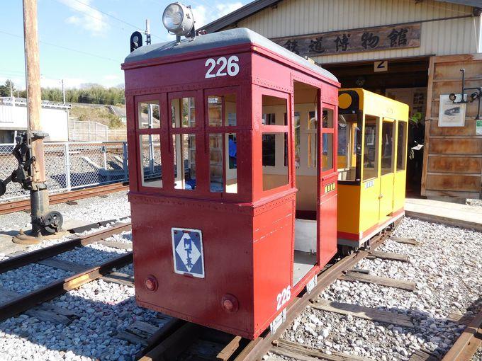 人が乗れる世界で一番小さな電車、ミニ電「ホクさん」が通りまーす