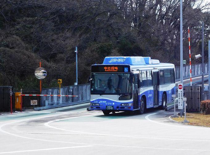 電車からバスへ、バスから電車へ、変身はモードインターチェンジにて