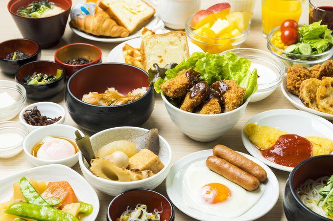 朝食にご当地グルメはいかが?姫路名物をバイキングスタイルで