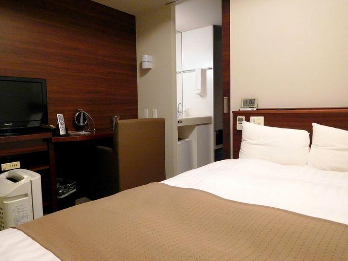 清潔な室内、便利な施設で自分好みに滞在可能!