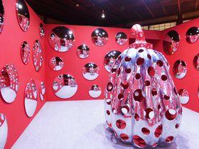 京都で愛のアート展開催!フォーエバー現代美術館「草間彌生 永遠の南瓜展」