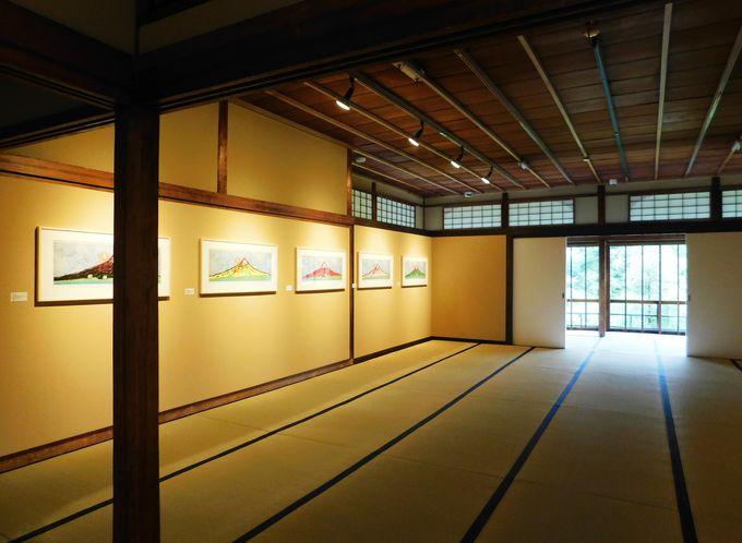 草間彌生と浮世絵師がコラボ!「富士の間」