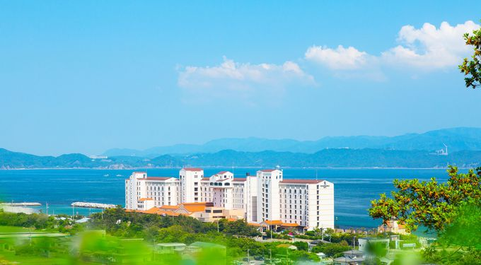 アオアヲ ナルト リゾートは鳴門海峡からすぐ
