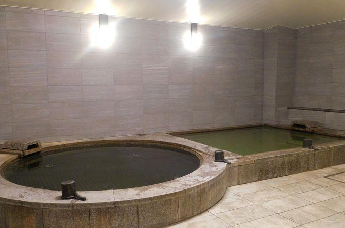 スポーツ設備と天然温泉で身体をリセット