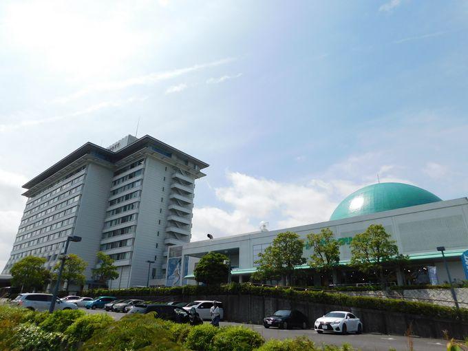 「デジタルスタードームほたる」は琵琶湖マリオットホテル併設プラネタリウム